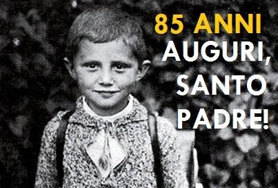 Il compleanno di Papa Benedetto XVI